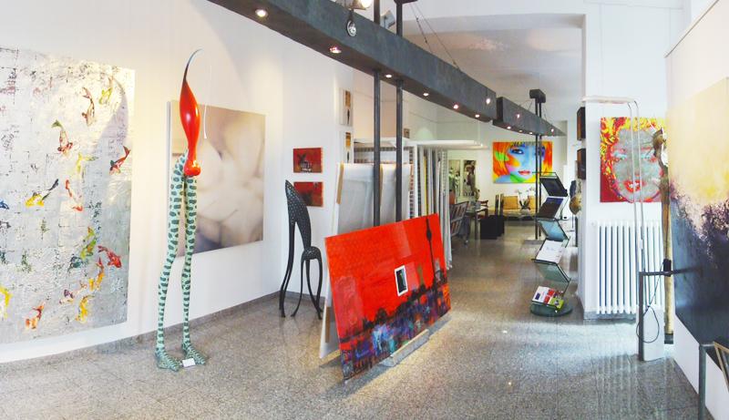 Galerie Zandi - Innenansicht